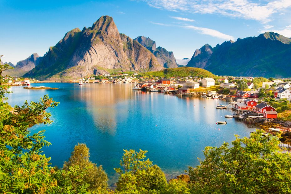Nordland fjell fjord